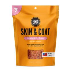 BIXBI Skin & Coat Salmon Jerky Dog Treats
