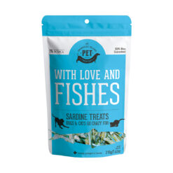 The Granville Island Pet Treatery – With Love & Fishes Sardine Treats