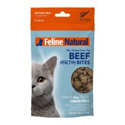 Feline Natural Beef Healthy Bites Grain-Free Freeze-Dried Cat Treats