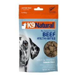 K9 Natural Healthy Bites Beef Freeze-Dried Dog Treats
