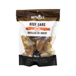 NatuRAWls Dehydrated Beef Ears Dog Treats