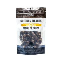 NatuRAWls Dehydrated Chicken Heart Dog Treats