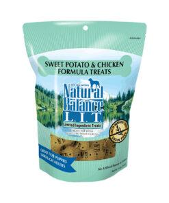 Natural Balance L.I.T. Limited Ingredient Treats Sweet Potato & Chicken Formula Dog Treats