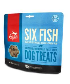 Orijen Freeze-Dried Six Fish Dog Treats