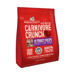 Stella & Chewy's Carnivore Crunch Cage-Free Turkey Recipe Freeze-Dried Raw Dog Treats