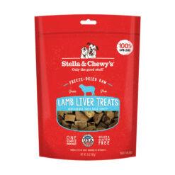Stella & Chewy's Lamb Liver Freeze-Dried Raw Dog Treats
