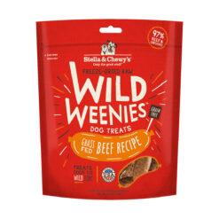 Stella & Chewy's Beef Wild Weenies Freeze-Dried Raw Dog Treats