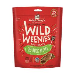 Stella & Chewy's Duck Wild Weenies Freeze-Dried Raw Dog Treats