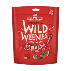 Stella & Chewy's Red Meat Wild Weenies Freeze-Dried Raw Dog Treats