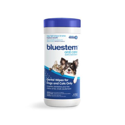 Bluestem Dog/Cat Dental Wipes