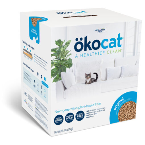 Okocat Original Premium Clumping Wood Cat Litter