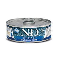 Farmina N&D Ocean Cod, Shrimps & Pumpkin Kitten Canned Cat Food