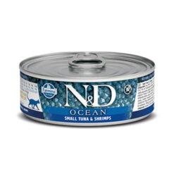 Farmina N&D Ocean Tuna & Shrimps Adult Canned Cat Food