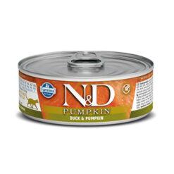 Farmina N&D Pumpkin Duck & Pumpkin Adult Canned Cat Food