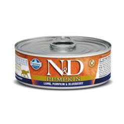 Farmina N&D Pumpkin Lamb, Pumpkin & Blueberry Adult Canned Cat Food