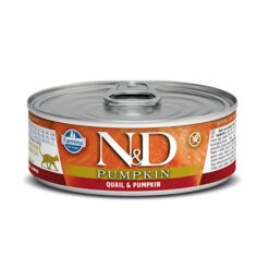 Farmina N&D Pumpkin Quail & Pumpkin Adult Canned Cat Food