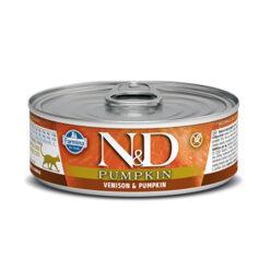 Farmina N&D Pumpkin Venison & Pumpkin Adult Canned Cat Food