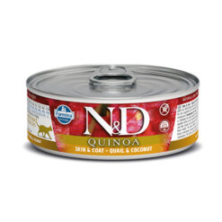 Farmina N&D Quinoa Skin & Coat Quail & Coconut Canned Cat Food