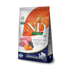 Farmina N&D Pumpkin Grain-Free Lamb & Blueberry Recipe Medium & Maxi Adult Dry Dog Food