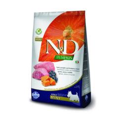 Farmina N&D Pumpkin Grain-Free Lamb & Blueberry Recipe Mini Adult Dry Dog Food