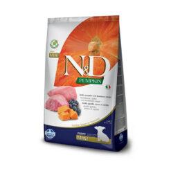 Farmina N&D Pumpkin Grain-Free Lamb & Blueberry Recipe Mini Puppy Dry Dog Food