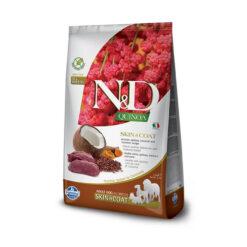 Farmina N&D Quinoa Skin & Coat Venison Adult Dry Dog Food