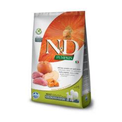 Farmina N&D Pumpkin Grain-Free Boar & Apple Recipe Medium & Maxi Adult Dry Dog Food
