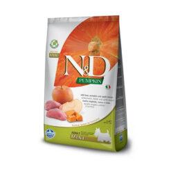 Farmina N&D Pumpkin Grain-Free Boar & Apple Recipe Mini Adult Dry Dog Food