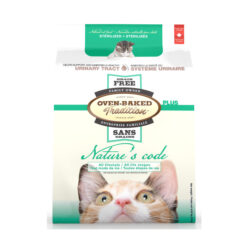 Oven-Baked Tradition Nature's Code Grain Free Urinary Tract Dry Cat Food