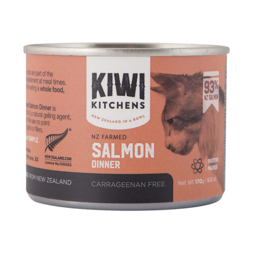 Kiwi Kitchens Salmon Canned Cat Food