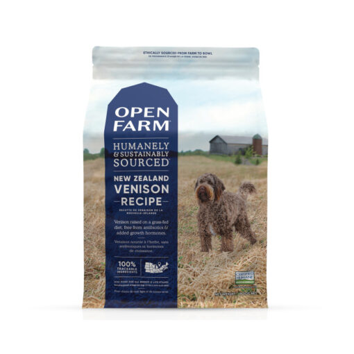 Open Farm New Zealand Venison Dry Dog Food