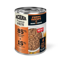 Acana Premium Pate Puppy Recipe in Bone Broth Canned Puppy Food
